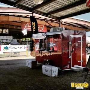 2017 Food Concession Trailer Concession Trailer Concession Window Texas for Sale