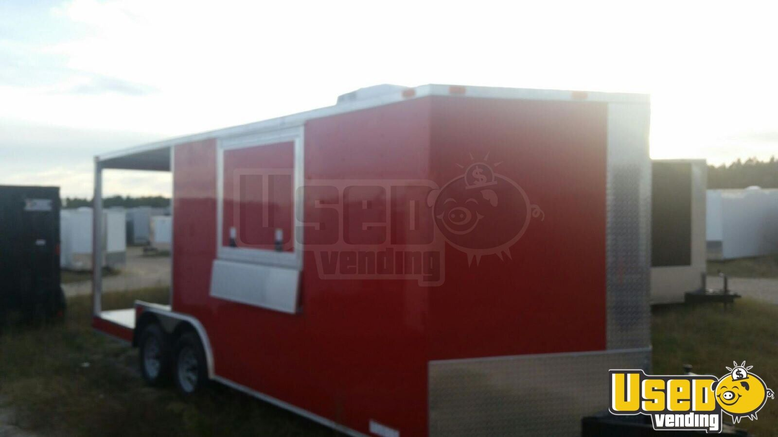 2017 Food Concession Trailer Concession Trailer Concession Window Texas for Sale - 3