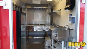 2017 Food Concession Trailer Concession Trailer Stainless Steel Wall Covers Texas for Sale
