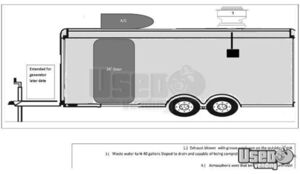 2017 Food Concession Trailer Kitchen Food Trailer 27 Texas for Sale