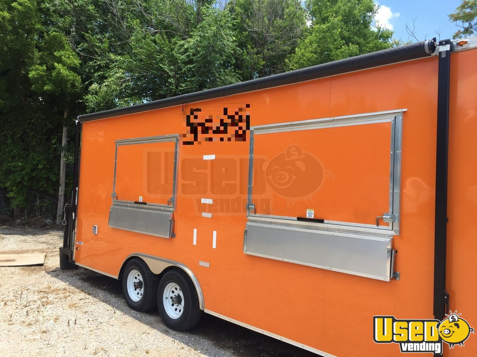 2017 Food Concession Trailer Kitchen Food Trailer Air Conditioning Oklahoma for Sale - 2