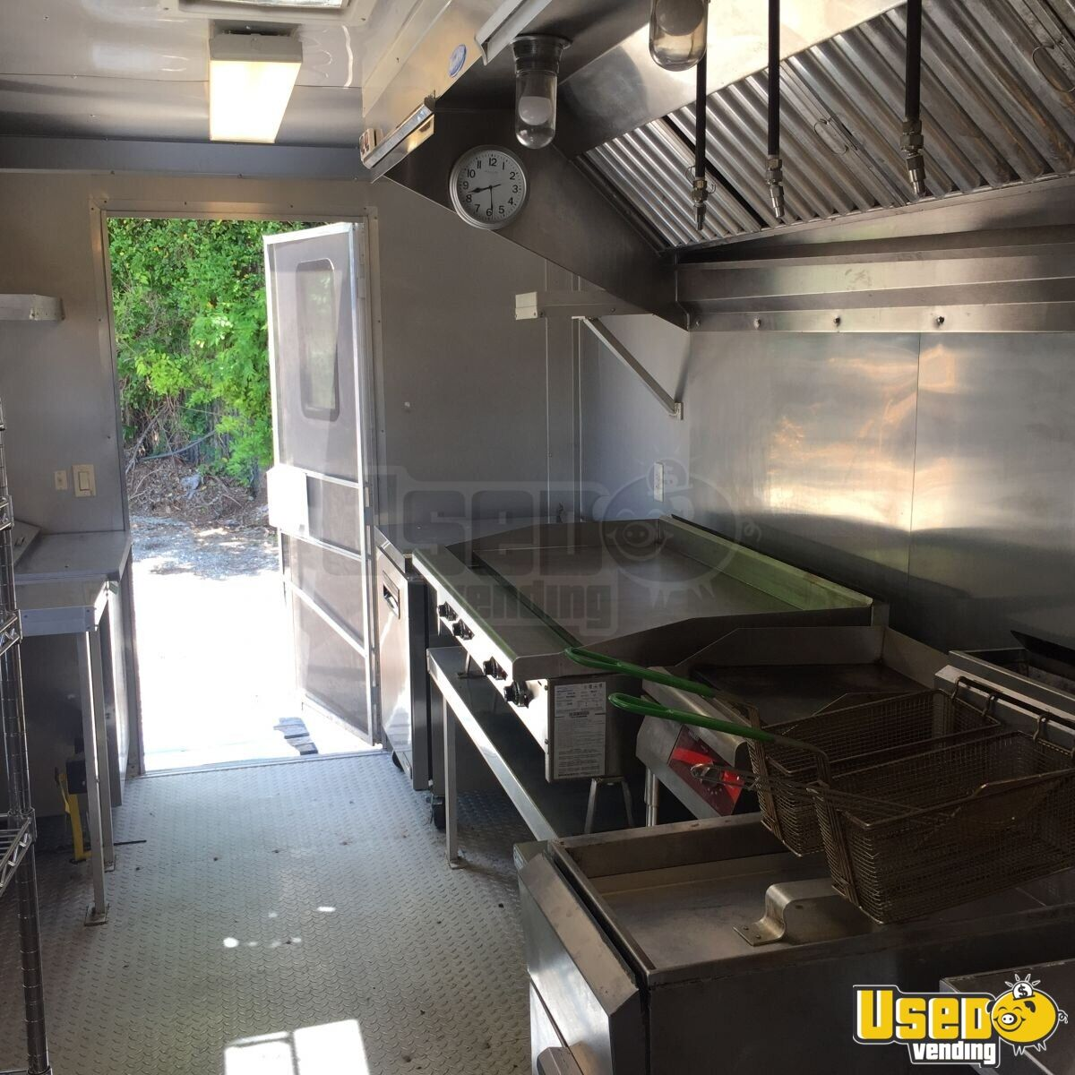 2017 Food Concession Trailer Kitchen Food Trailer Awning Oklahoma for Sale - 7
