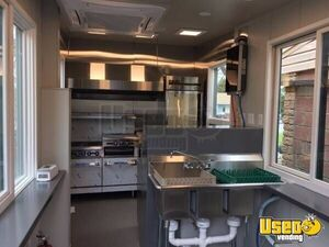 2017 Food Concession Trailer Kitchen Food Trailer Deep Freezer Montana for Sale