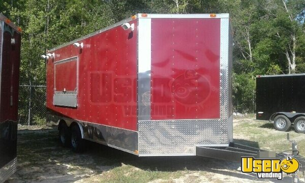2017 Food Concession Trailer Kitchen Food Trailer Texas for Sale