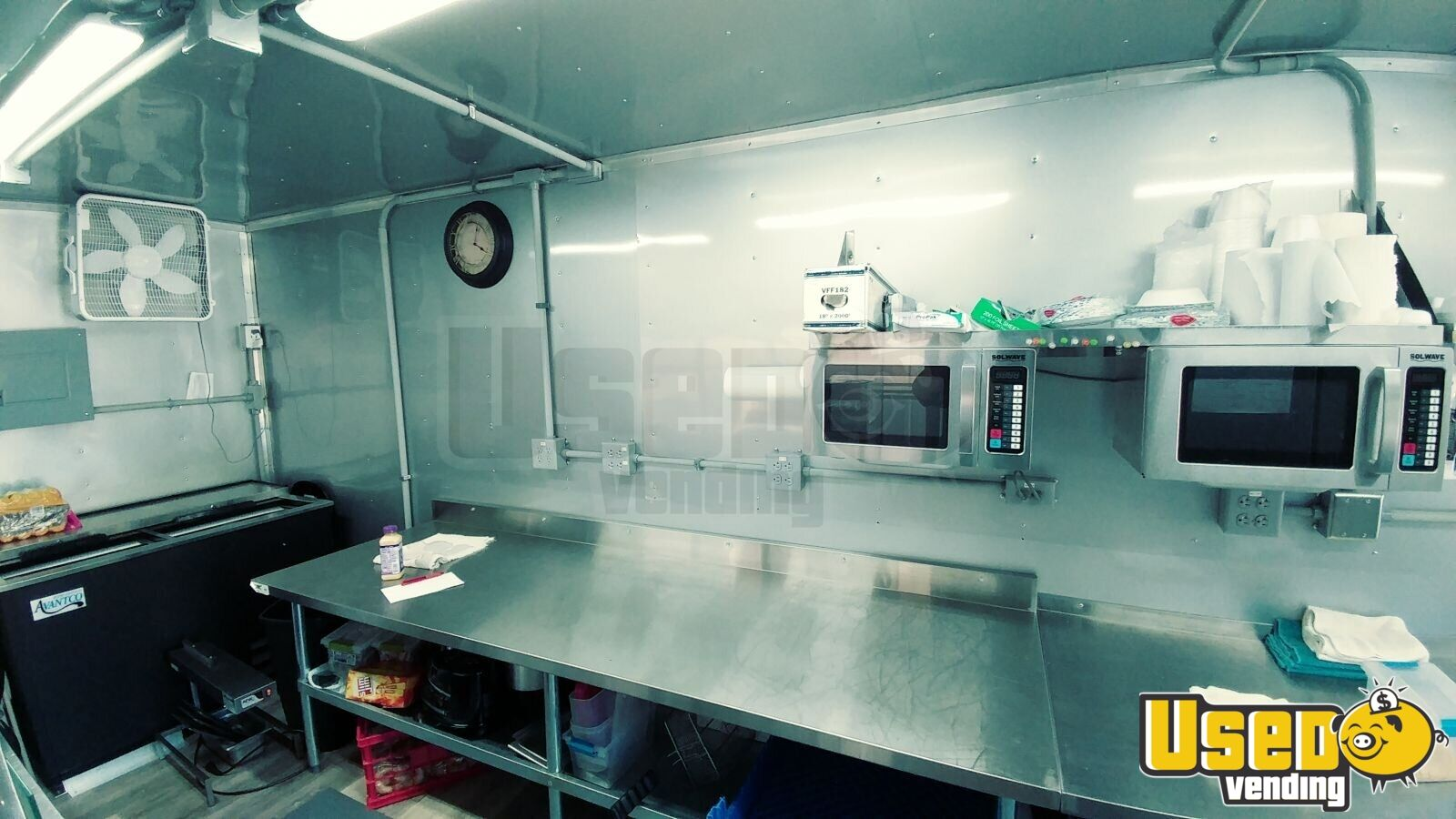 2017 Freedom Trailer All-purpose Food Trailer Microwave Maryland for Sale - 14