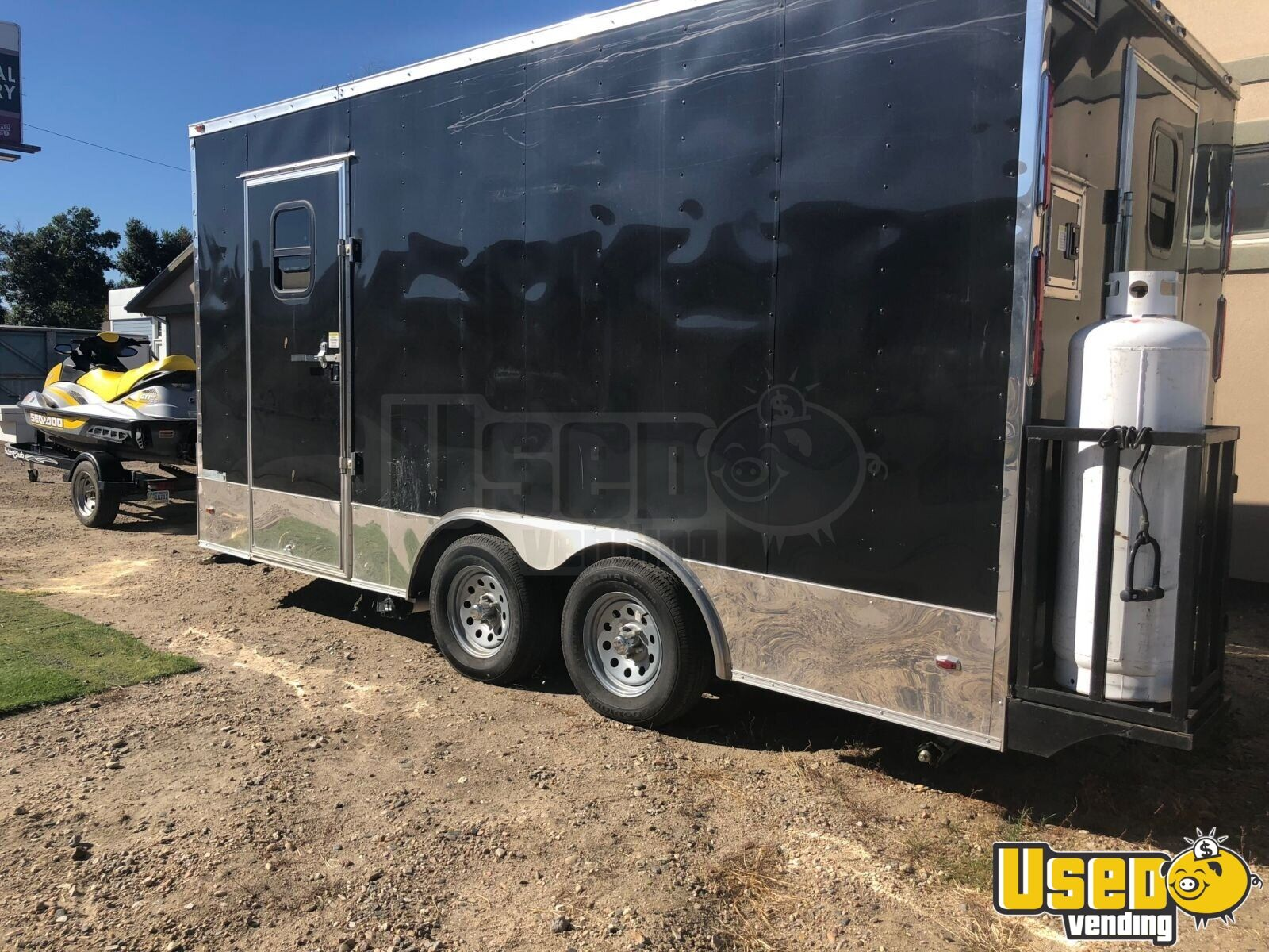 2017 Freedom Trailer Kitchen Food Trailer Air Conditioning Wyoming for Sale - 2