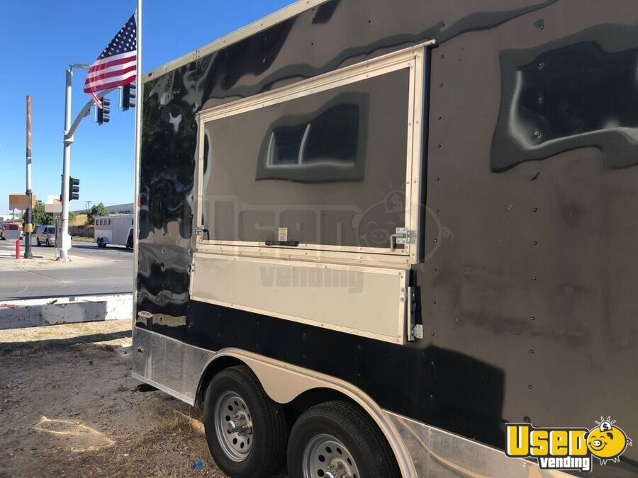 2017 Freedom Trailer Kitchen Food Trailer Concession Window Wyoming for Sale - 3