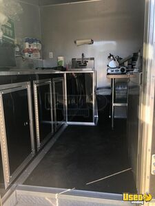 2017 Freedom Trailer Kitchen Food Trailer Exterior Customer Counter Wyoming for Sale