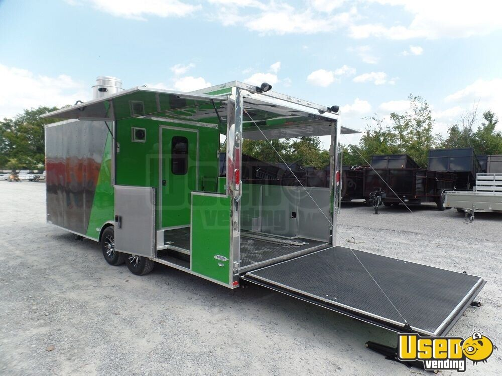 2017 Kitchen Food Trailer Air Conditioning North Carolina for Sale - 2