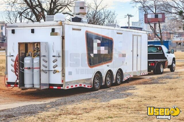 2017 Kitchen Food Trailer Air Conditioning Oklahoma for Sale - 2