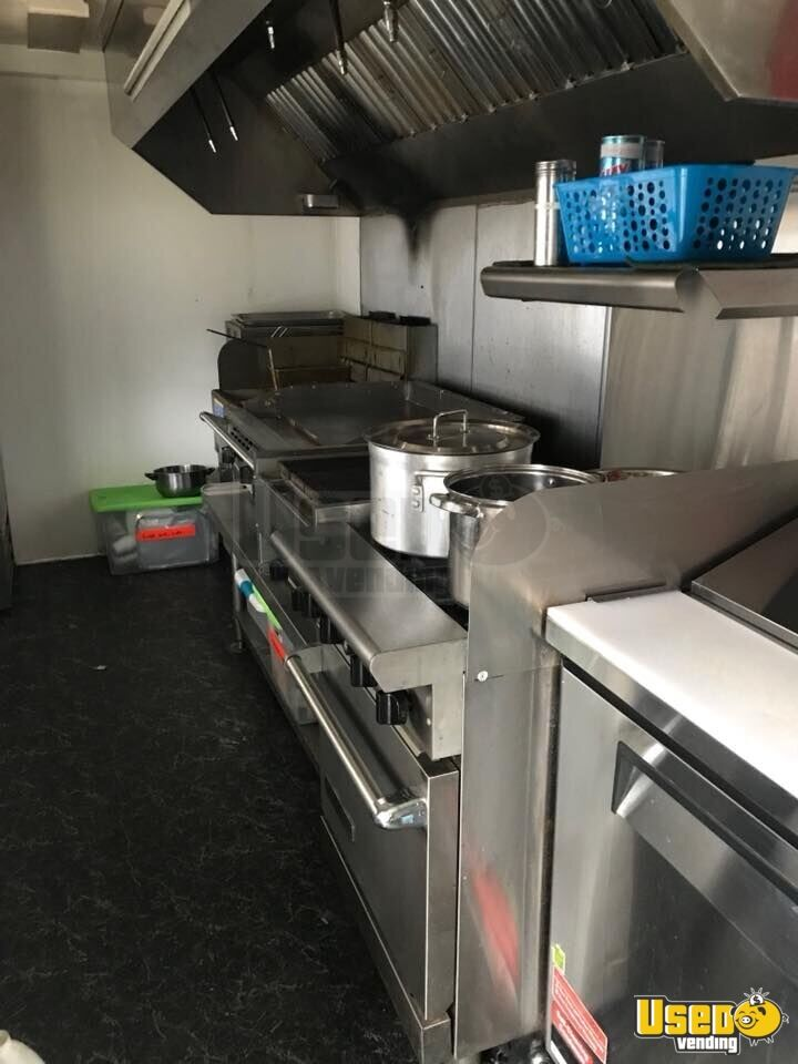 2017 Kitchen Food Trailer Awning New Jersey for Sale - 5