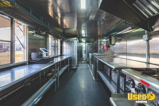 2017 Kitchen Food Trailer Cabinets Oklahoma for Sale - 4
