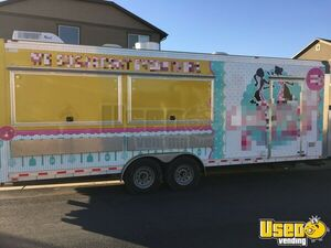 2017 Kitchen Food Trailer Concession Trailer Air Conditioning Utah for Sale