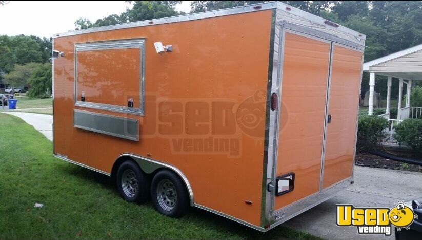 2017 Kitchen Food Trailer Concession Window New Jersey for Sale - 2