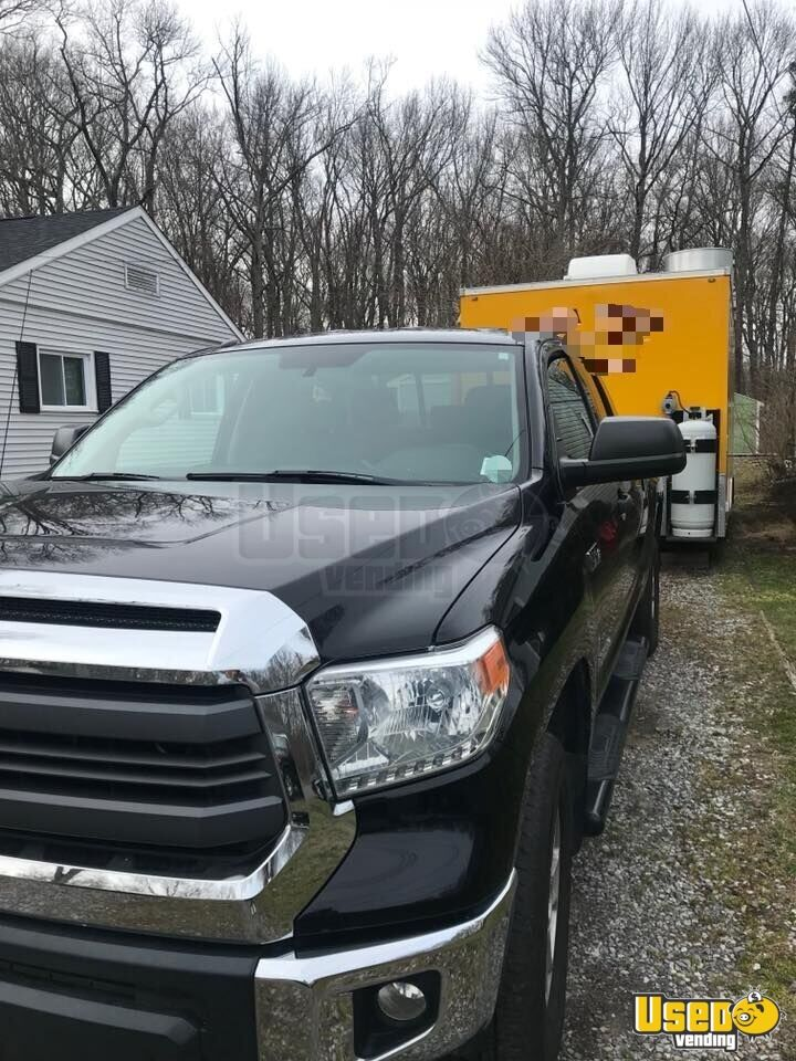 2017 Kitchen Food Trailer Concession Window New Jersey for Sale - 3