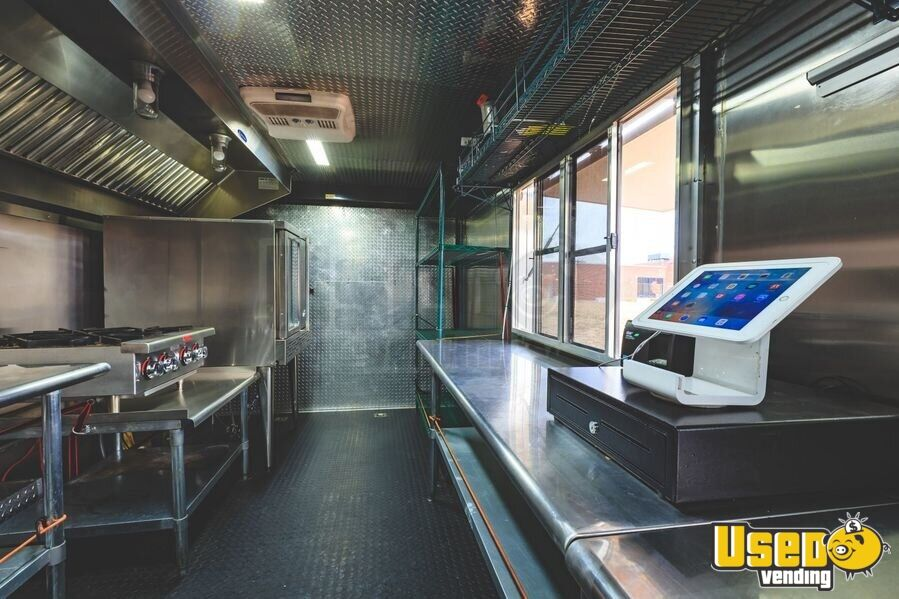 2017 Kitchen Food Trailer Concession Window Oklahoma for Sale - 3