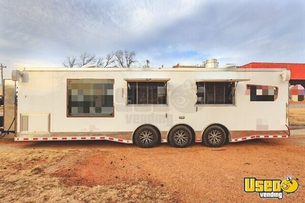 2017 Kitchen Food Trailer Oklahoma for Sale