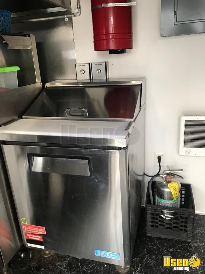 2017 Kitchen Food Trailer Upright Freezer New Jersey for Sale - 9