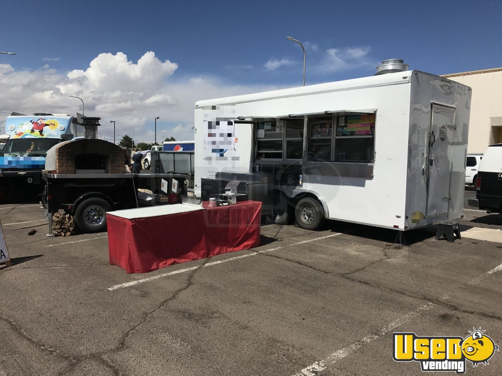 2017 Lark Concession Trailer Concession Window New Mexico for Sale - 2