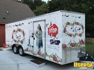 Well-Maintained 2017 - 8.5' x 20' Look V-nose Mobile Fashion Boutique Trailer for Sale in Texas!