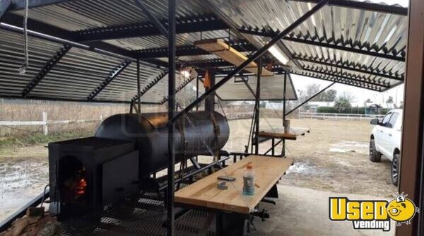 2017 Open Barbecue Smoker Cocession Trailer Open Bbq Smoker Trailer Texas for Sale
