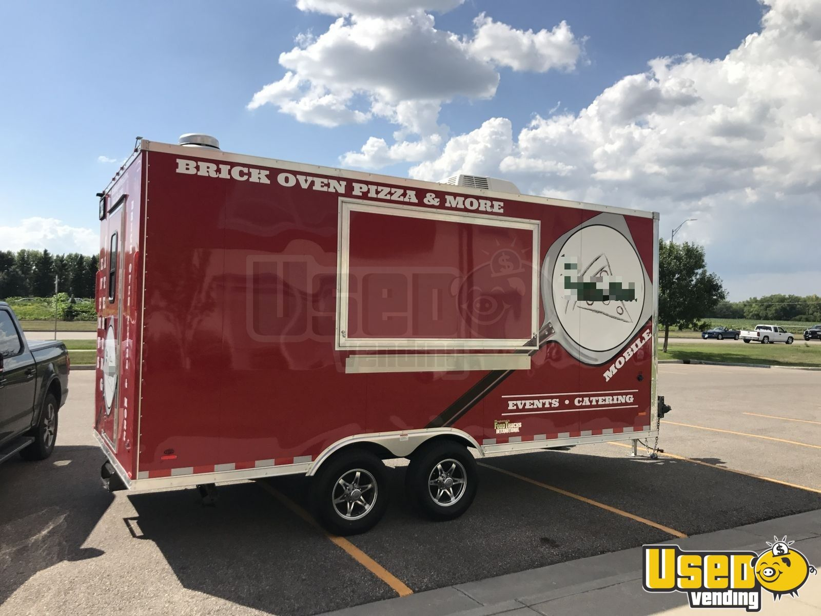 2017 Pizza Trailer Air Conditioning Vermont for Sale - 2
