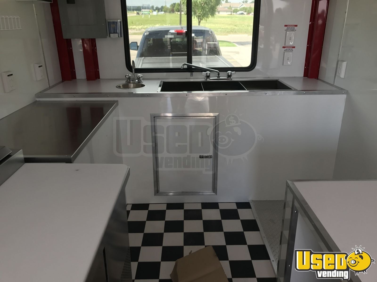 2017 Pizza Trailer Cabinets Vermont for Sale - 5