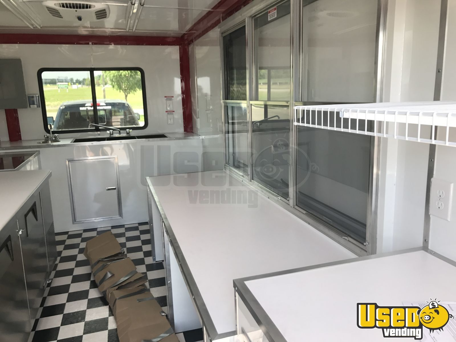 2017 Pizza Trailer Spare Tire Vermont for Sale - 4
