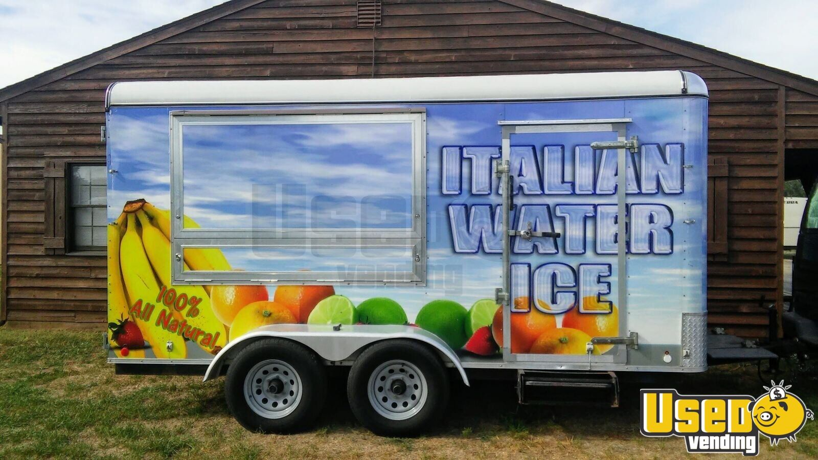 2017 Shaved Ice Concession Trailer Concession Trailer Concession Window Florida for Sale - 2