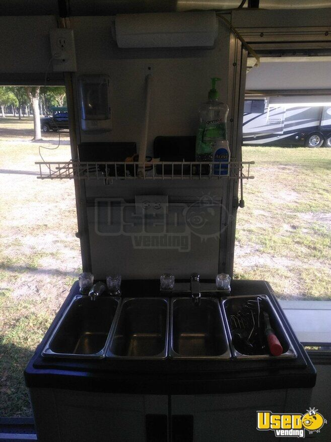 2017 Shaved Ice Concession Trailer Concession Trailer Fire Extinguisher Florida for Sale - 17