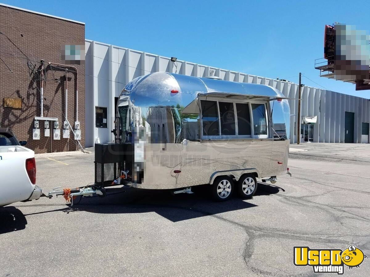 2017 - 6' x 13 2' Airstream Style Food Concession Trailer for Sale in  Colorado!
