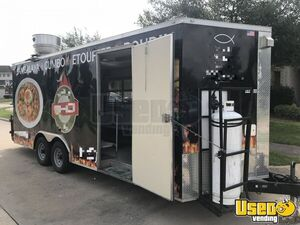 2017 Texas Trailer Country 8.5x20ta Covered Wagon Cargo Trailer All-purpose Food Trailer Air Conditioning Texas for Sale