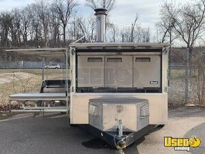 2017 Wood-fired Pizza Trailer Pizza Trailer Fire Extinguisher Ohio for Sale