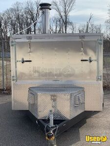 2017 Wood-fired Pizza Trailer Pizza Trailer Refrigerator Ohio for Sale
