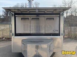 2017 Wood-fired Pizza Trailer Pizza Trailer Work Table Ohio for Sale