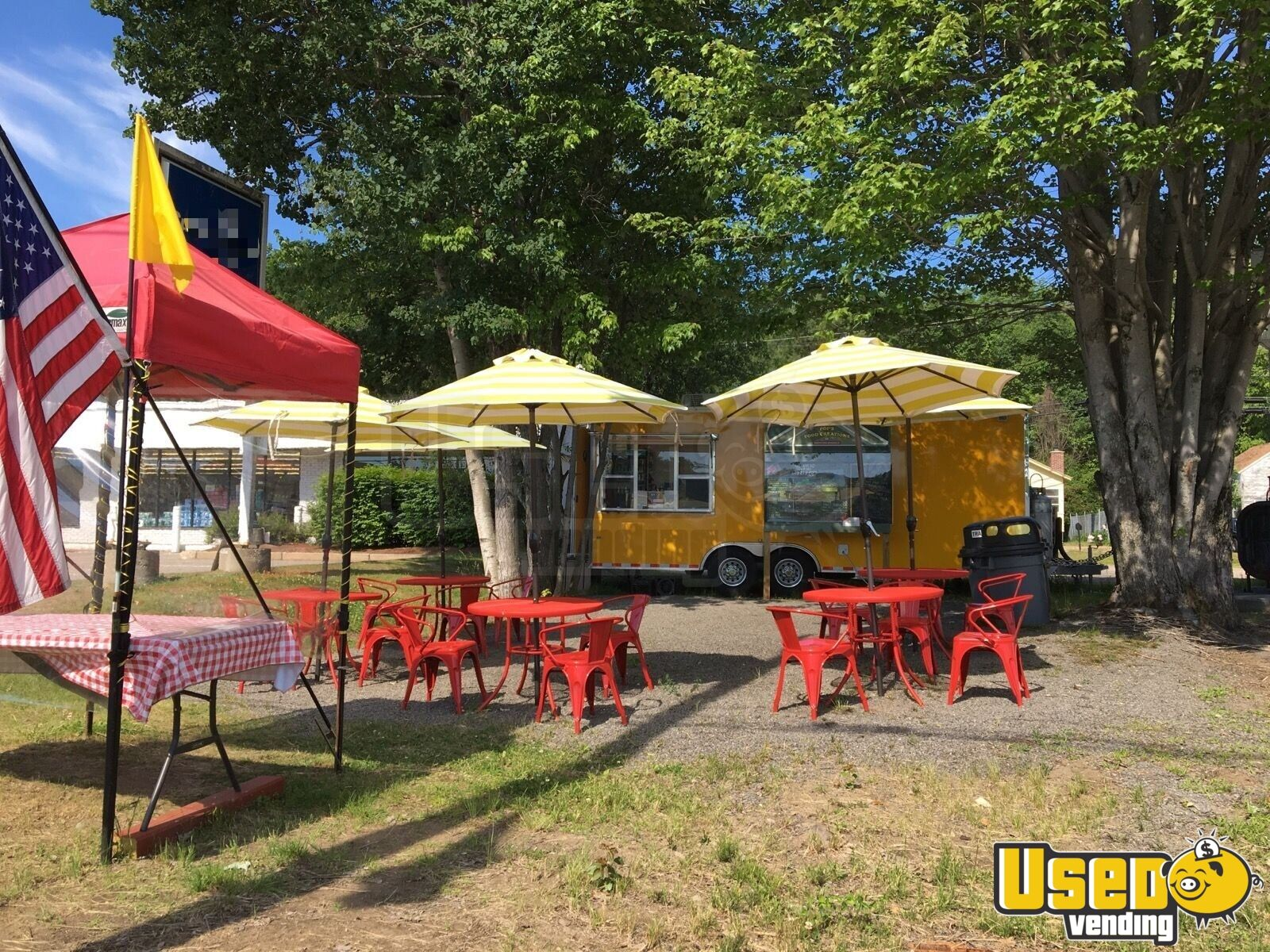 2017 Worldwide Concession Trailer Insulated Walls New Hampshire for Sale - 5