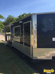 2018 16944 Barbecue Concession Trailer Barbecue Food Trailer Air Conditioning Texas for Sale