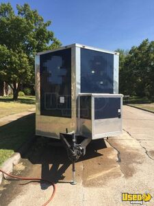 2018 16944 Barbecue Concession Trailer Barbecue Food Trailer Cabinets Texas for Sale