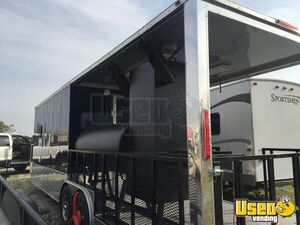 2018 16944 Barbecue Concession Trailer Barbecue Food Trailer Concession Window Texas for Sale
