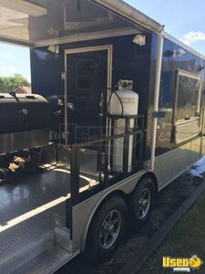2018 16944 Barbecue Concession Trailer Barbecue Food Trailer Stainless Steel Wall Covers Texas for Sale
