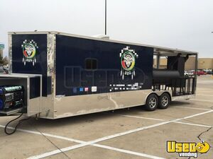 2018 16944 Barbecue Concession Trailer Barbecue Food Trailer Texas for Sale