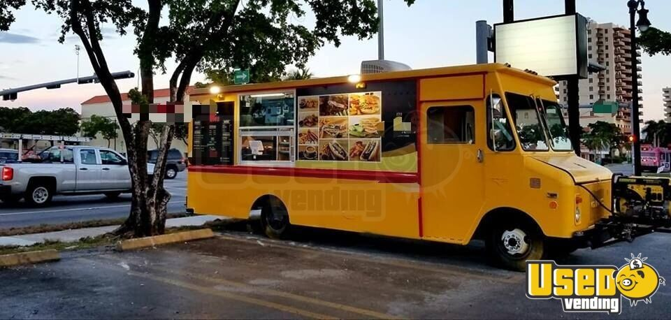 2018 1977 Gmc Kurbmaster Food Truck Concession Window Florida for Sale - 3