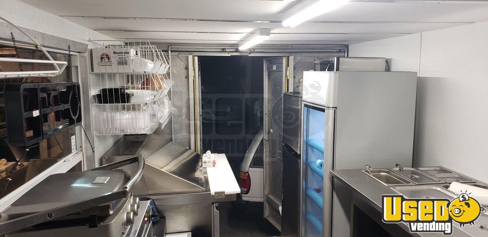 2018 1977 Gmc Kurbmaster Food Truck Generator Florida for Sale - 8