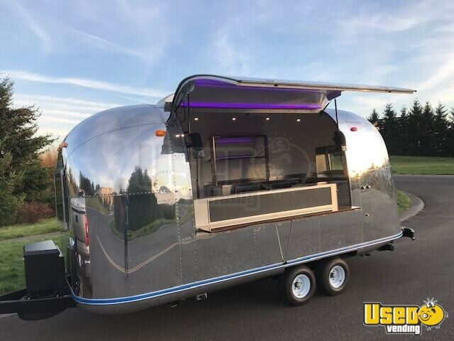 2018 Airstream Beverage - Coffee Trailer Concession Window Washington for Sale - 2