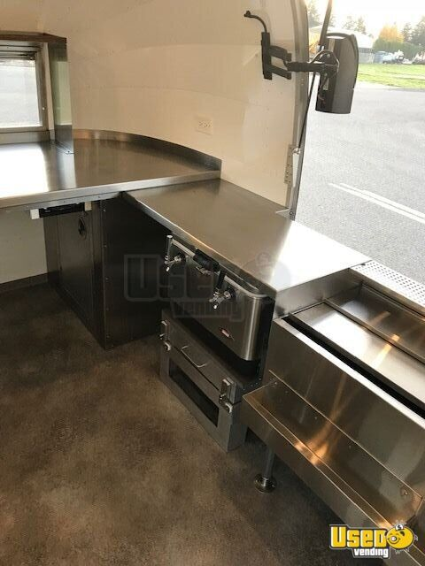 2018 Airstream Beverage - Coffee Trailer Interior Lighting Washington for Sale - 15