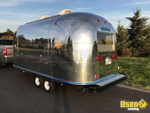 2018 Airstream Beverage - Coffee Trailer Stainless Steel Wall Covers Washington for Sale