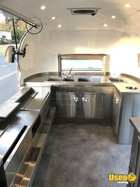2018 Airstream Beverage - Coffee Trailer Work Table Washington for Sale - 13