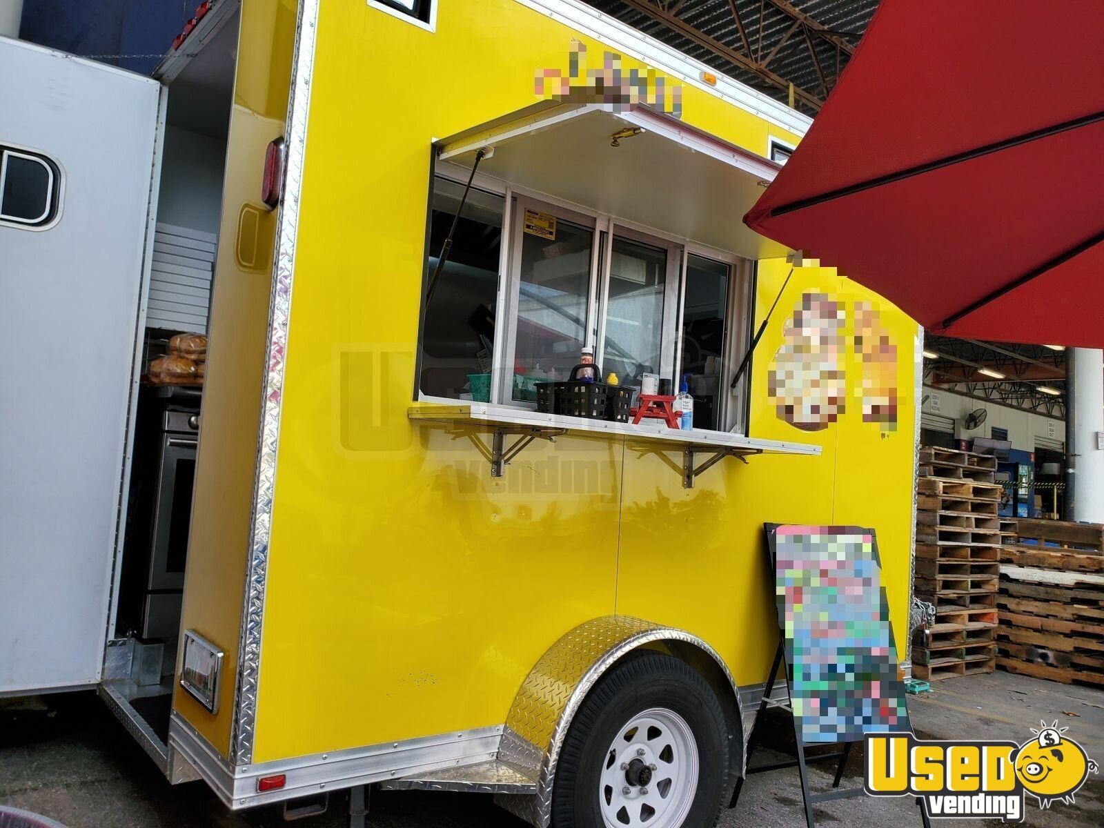 2018 All-purpose Food Truck Concession Window Florida for Sale - 2