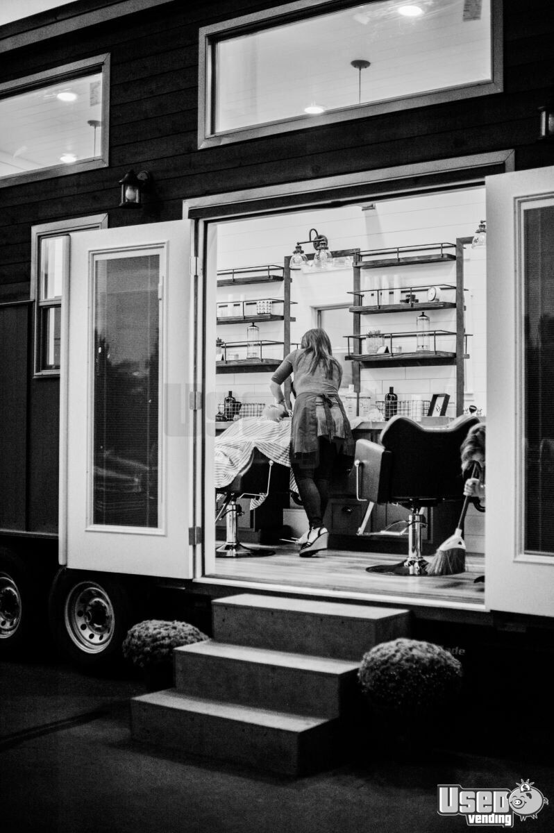 2018 Alpine Tiny Homes Mobile Hair Salon Truck Cabinets Utah for Sale - 3