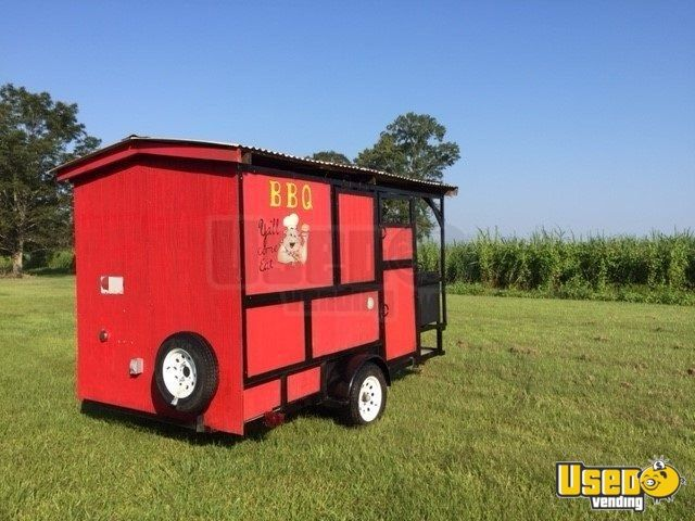 2018 Barbecue Food Trailer Awning Louisiana for Sale - 4